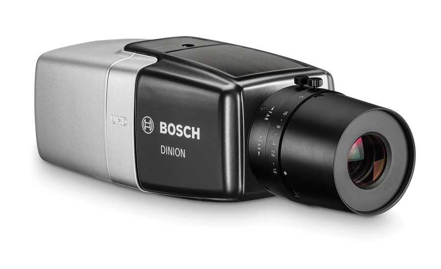 Supports Multiple Focus Points for Wide-Angled Yet Detailed Surveillance DINION IP Ultra 8000 MP Camera from Bosch