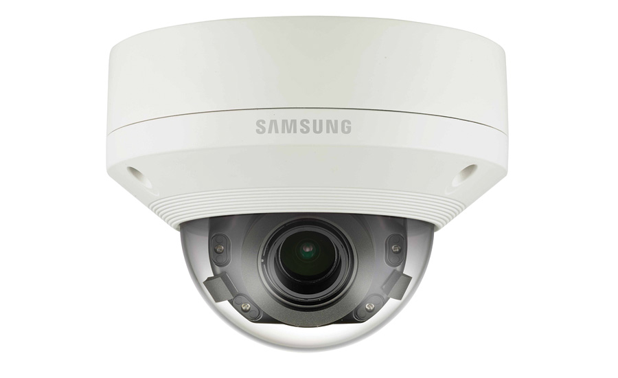 Combines Ultra HD and Compression Technology for Efficient Surveillance PNV-9080R Outdoor IR Vandal Dome from Hanwha Techwin America