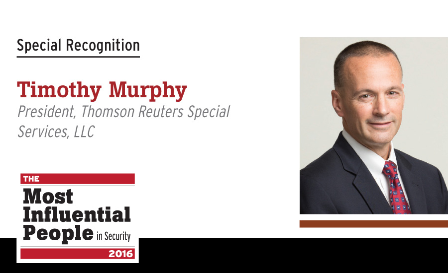 Timothy Murphy, President, Thomson Reuters Special Services, LLC