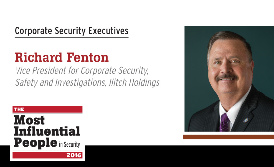 Richard Fenton, Vice President for Corporate Security, Safety and Investigations, Ilitch Holdings