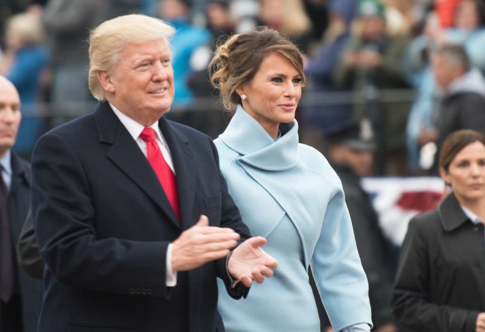 President Donald Trump and First Lady Milania Trump