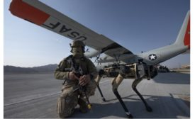 U.S. Air Force tests robotic dogs for perimeter security