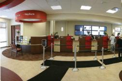 Key Bank lobby