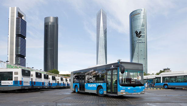 Buses in Madrid