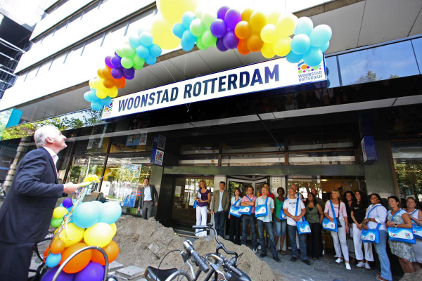 Woonstad Rotterdam Housing Corporation invested in more than 200 HD cameras to protect their investments. Photo courtesy of IQinVision.