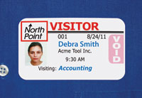 Data Management Inc's Visitor Pass Solutions