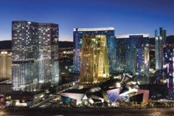 Casinos at dusk
