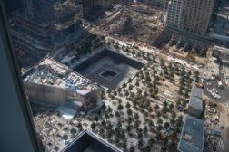 Sky view of new World Trade Center
