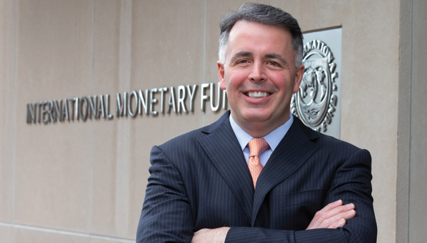 Vincent O'Neill, chief of security operations at the International Monetary Fund's facilities