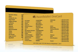 AwardWallet card