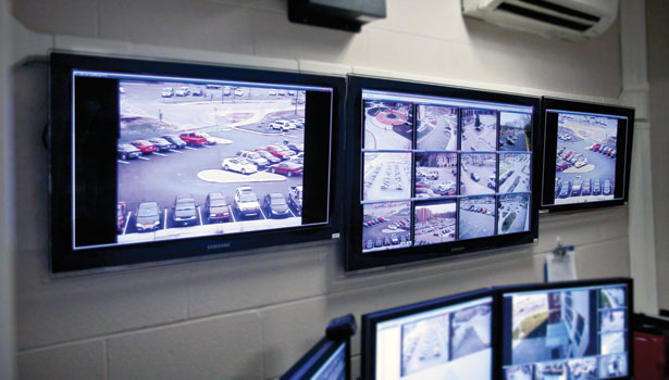 Video surveillance monitor