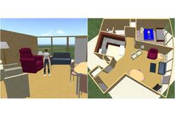 Virtual drawings of home