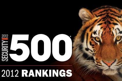 2012 Security 500 Rankings | 2012-10-26 | Security Magazine