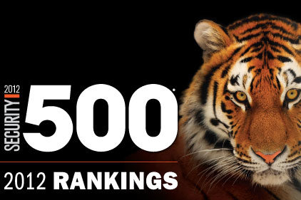 2012 Security 500 Rankings | 2012-10-26 | Security Magazine