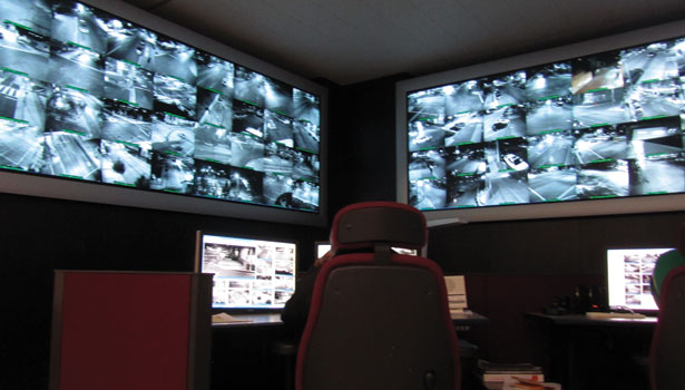 camera monitoring room