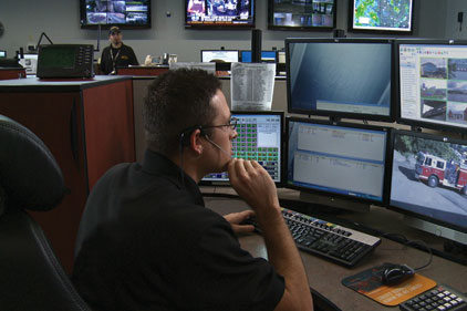 Beaver County 911 Center's upgraded video system