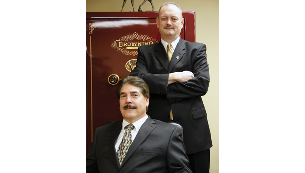 Mike Stratton and Christopher Prickett