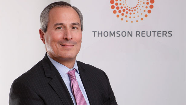 Ed Levy of Thomson Reuters