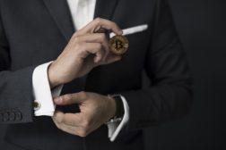 Executive holds bitcoin
