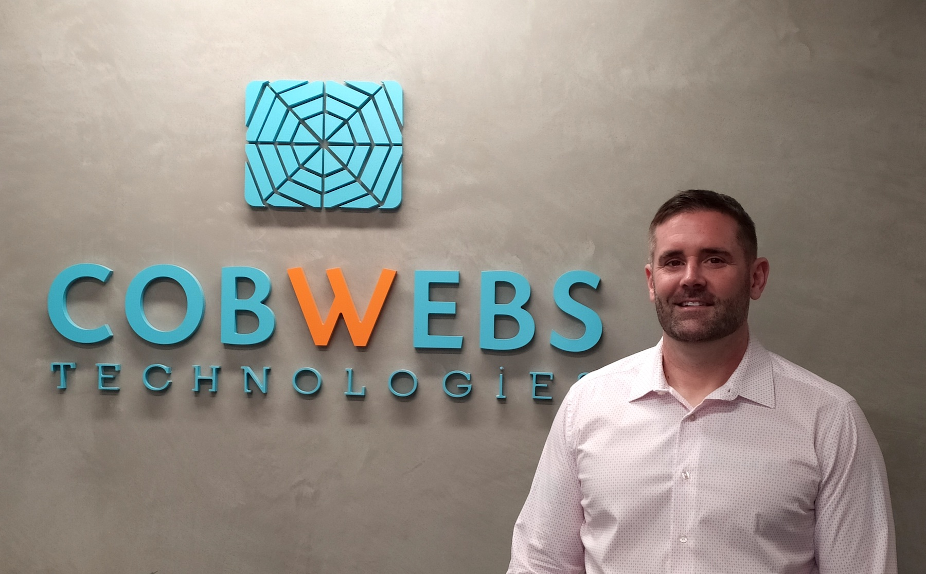 3johnmichael ohare sales and business development director at cobwebs technologies