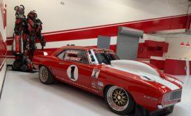 Big Red Camaro video surveillance