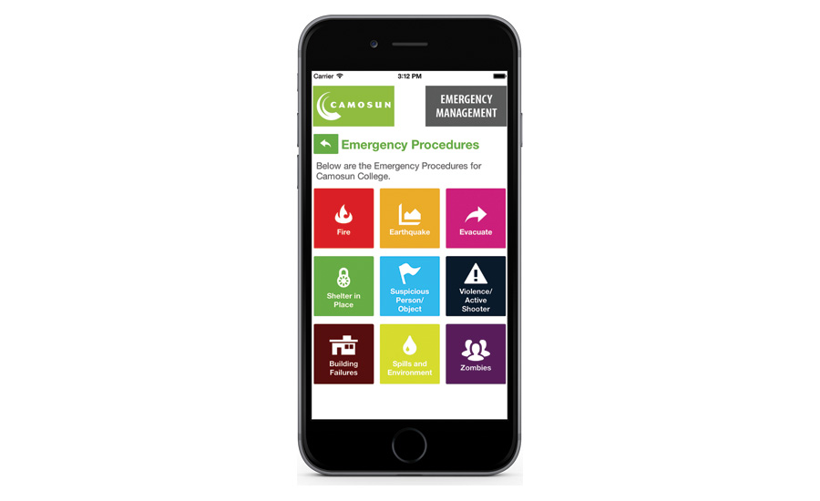 Camosun Community College app