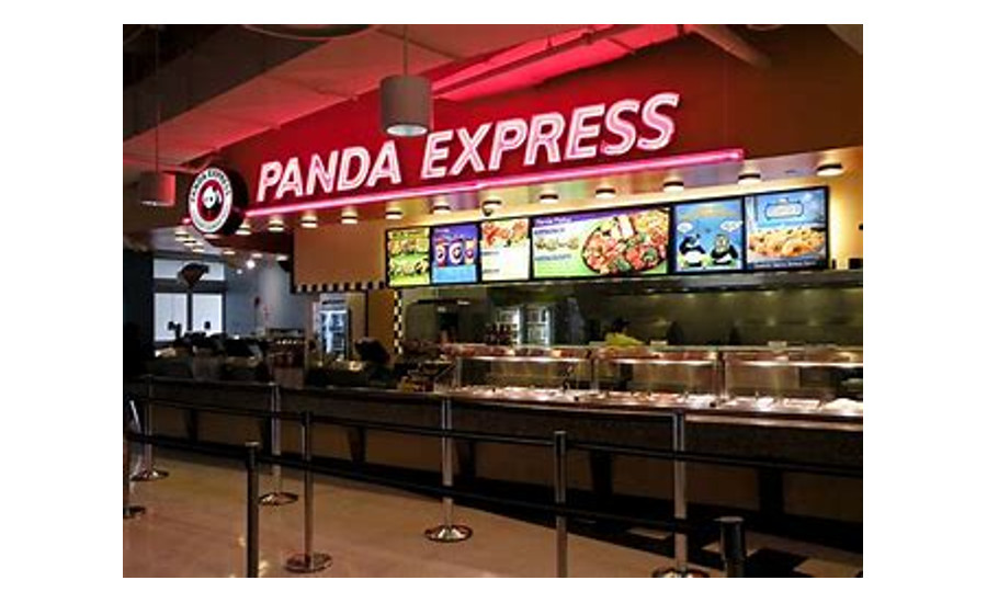 Panda restaurant location