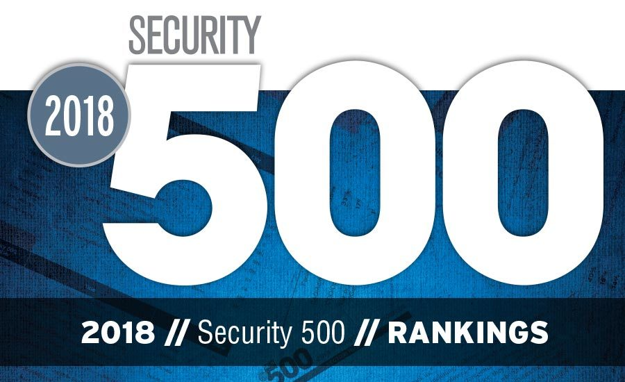 The 2018 Security 500 Rankings | 2017-11-01 | Security Magazine
