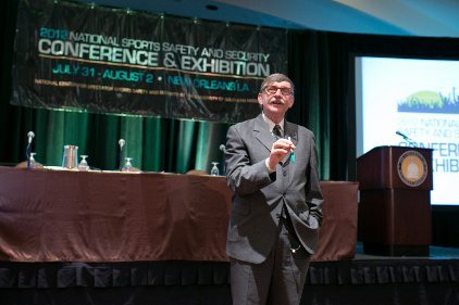 Gordon Graham speaks on risk management at the NCS4 Conference 2012.