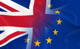 """Great Britain votes to leave the EU, in a move largely referred to as the """"Brexit."""""""