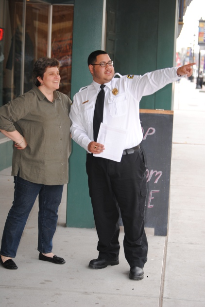 New Security Officer Helps Create District's Welcoming Presence ...