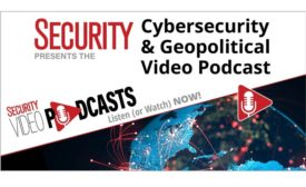 April 2021 Security magazine's Cybersecurity and Geopolitical Video Podcast with Cyjax Chief Information Security Officer