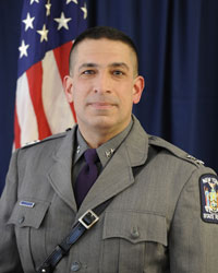 New York State Police Superintendent Joseph A. D'Amico