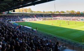 Goffert Stadium in the Netherlands upgrades security system technology video surveillance
