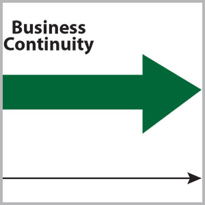 Business resilience flow shart