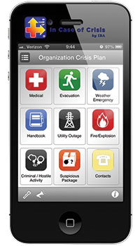 In Case of Crisis App from Irving Burton Associates (IBA)