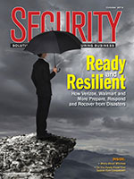 Security Magazine 2014 September cover