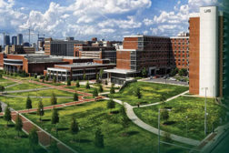 University of Alabama at Birmingham hospital and campus.