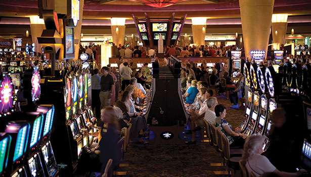 The Mohegan Sun at Pocono Downs implemented security technology that ties together data from point-of-sale systems, slot machines and cash counters