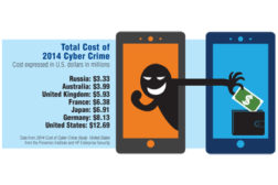 HOw much is cyber crime costing US business?