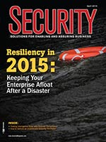 April 2015 security magazine cover
