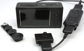 Cameras are now body worn and can be helpful for officers and others. Photo courtesy KJB Security