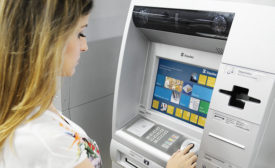 ATM security now includes video but more banks are adding biometrics for convenience and protection. Photo courtesy of HID Global