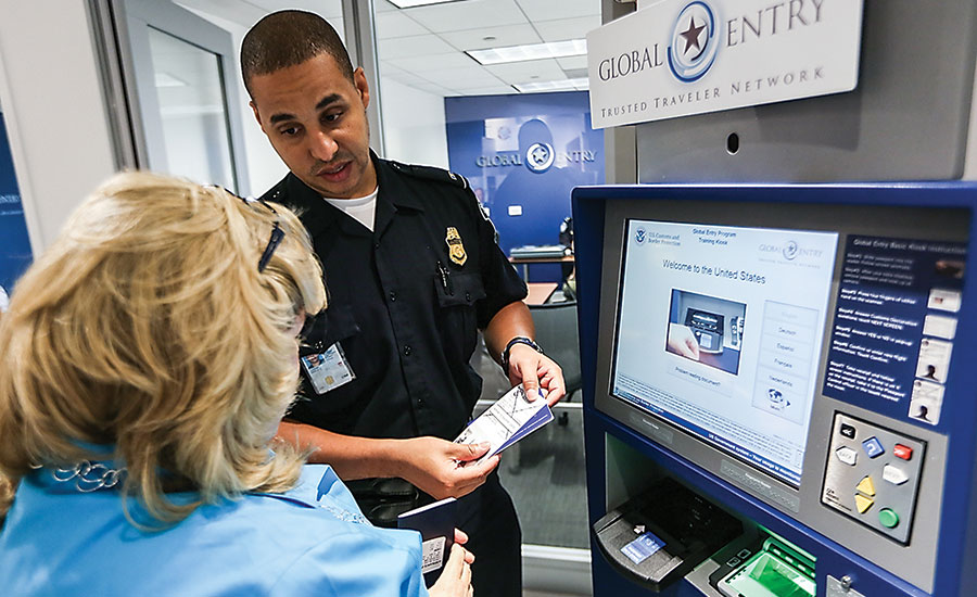 At ports, there is a balance between security and convenience, especially for international passengers. Photo courtesy of U.S. Department of Homeland Security