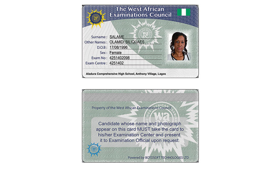 While ready for the potential of RFID, Nigeriaâ??s West African Examinations Council now authenticates students with a mobile ID system that helps combat identity fraud.