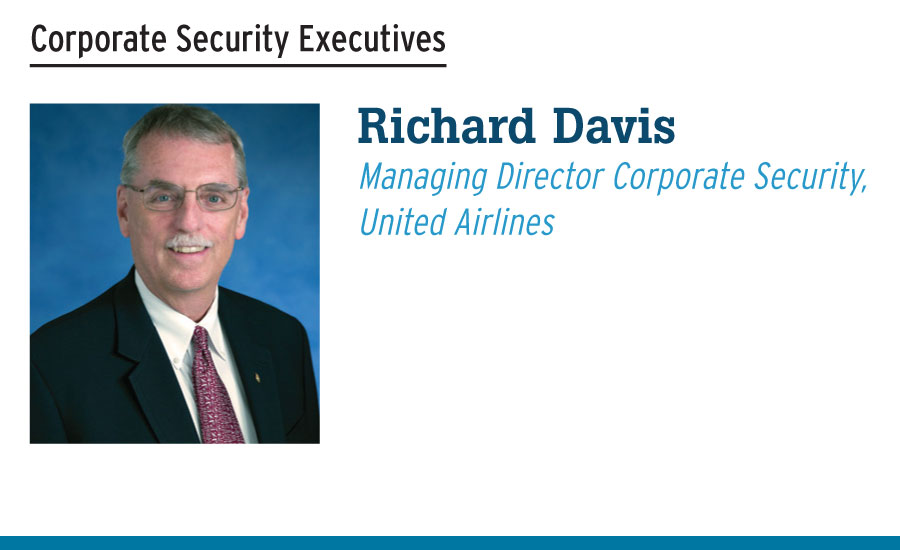 Richard Davis  Managing Director Corporate Security,  United Airlines