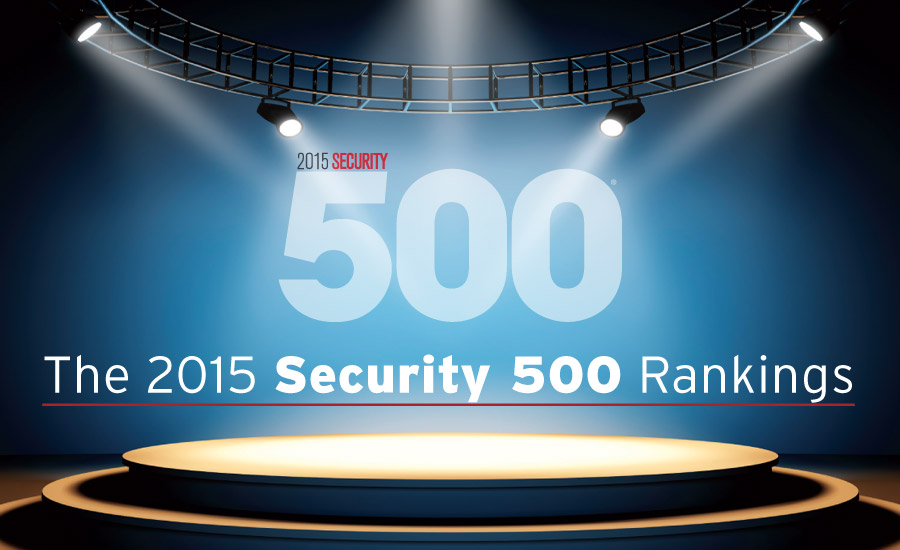 2015 Security 500 Rankings | 2015-11-02 | Security Magazine