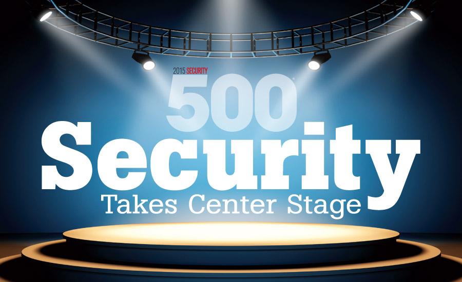 Security 500 stage with logo
