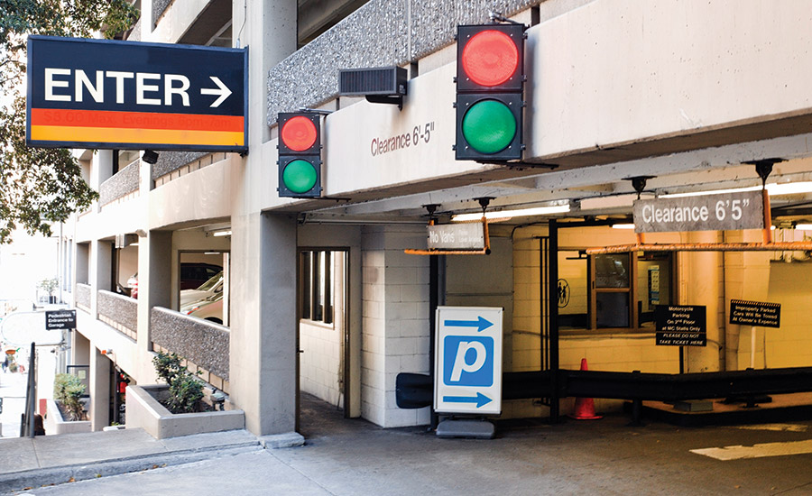 Parking garage; parking lot security, security liability, access control, parking garage security
