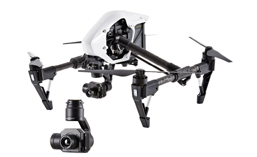 DJI Innovations and Flir Systems;thermal cameras, video surveillance tools